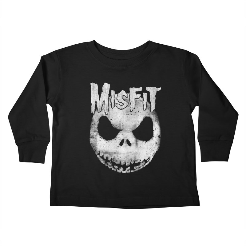 The Misfit of Christmas Town Kids Toddler Longsleeve T-Shirt by lirovi's Artist Shop