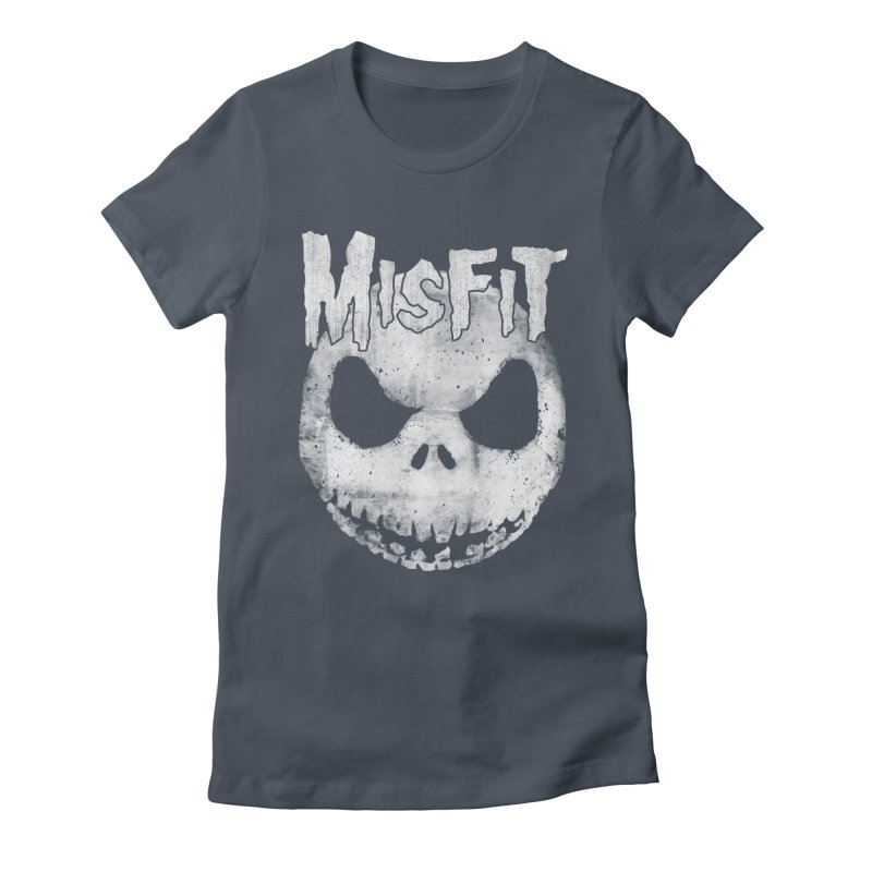 The Misfit of Christmas Town Women's Fitted T-Shirt by lirovi's Artist Shop