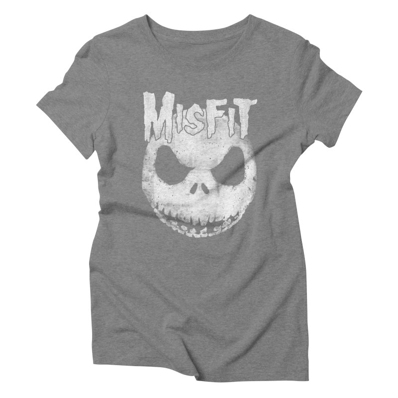 The Misfit of Christmas Town Women's Triblend T-shirt by lirovi's Artist Shop