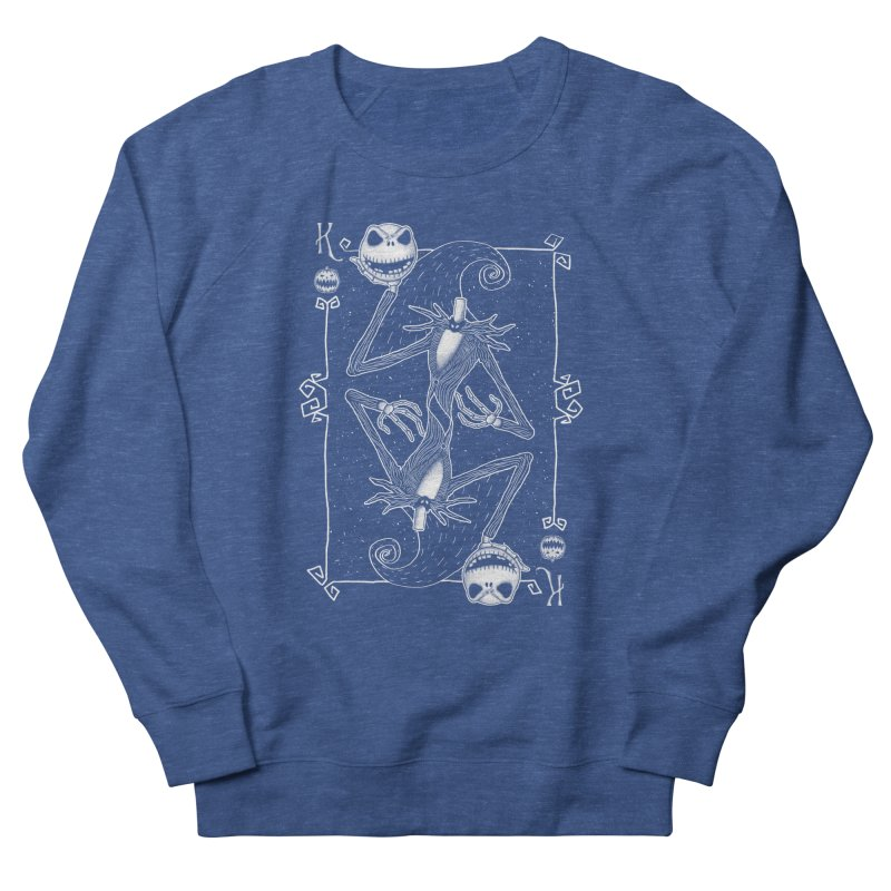 The Pumpkin King  Men's Sweatshirt by lirovi's Artist Shop