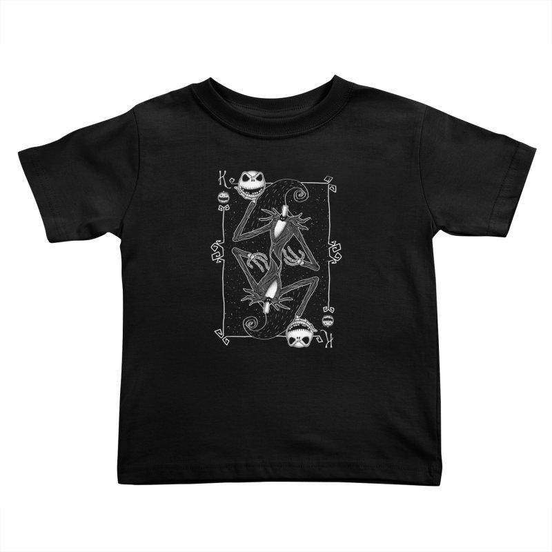 The Pumpkin King  Kids Toddler T-Shirt by lirovi's Artist Shop