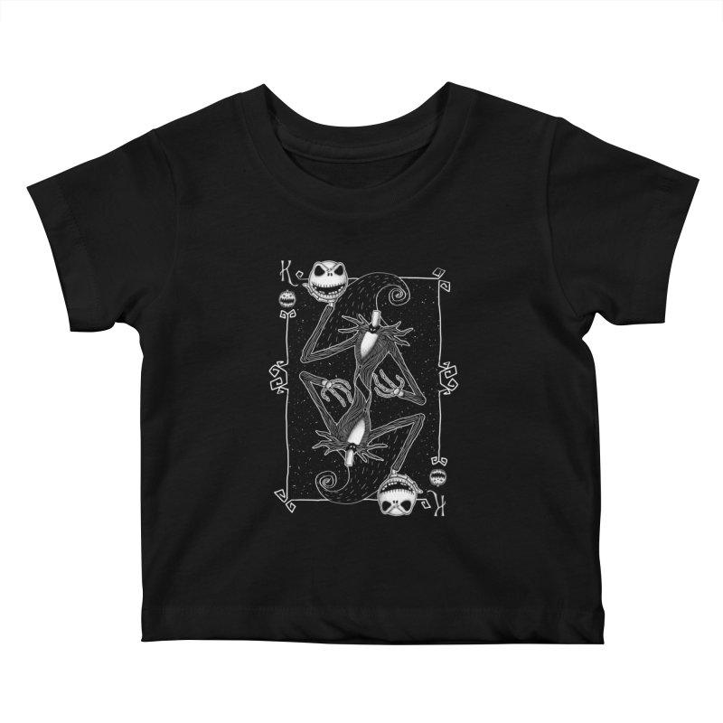 The Pumpkin King  Kids Baby T-Shirt by lirovi's Artist Shop