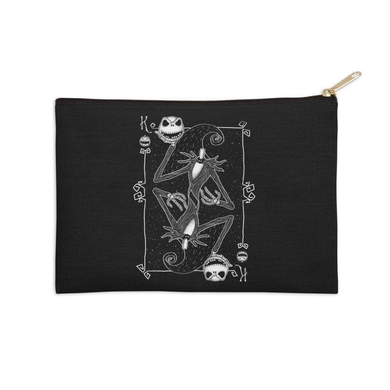 The Pumpkin King  Accessories Zip Pouch by lirovi's Artist Shop