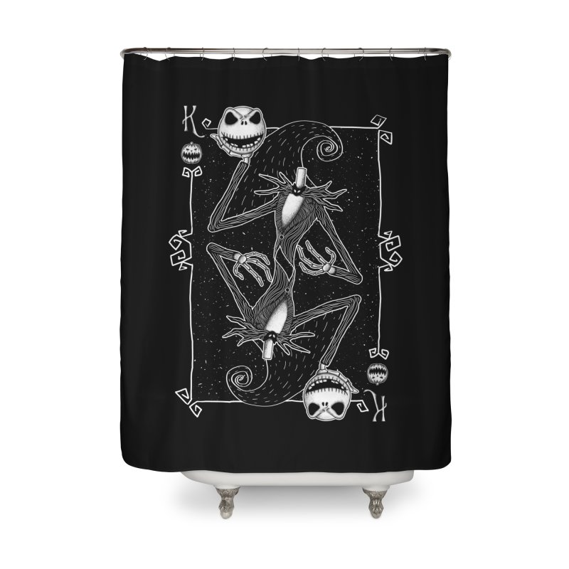 The Pumpkin King  Home Shower Curtain by lirovi's Artist Shop
