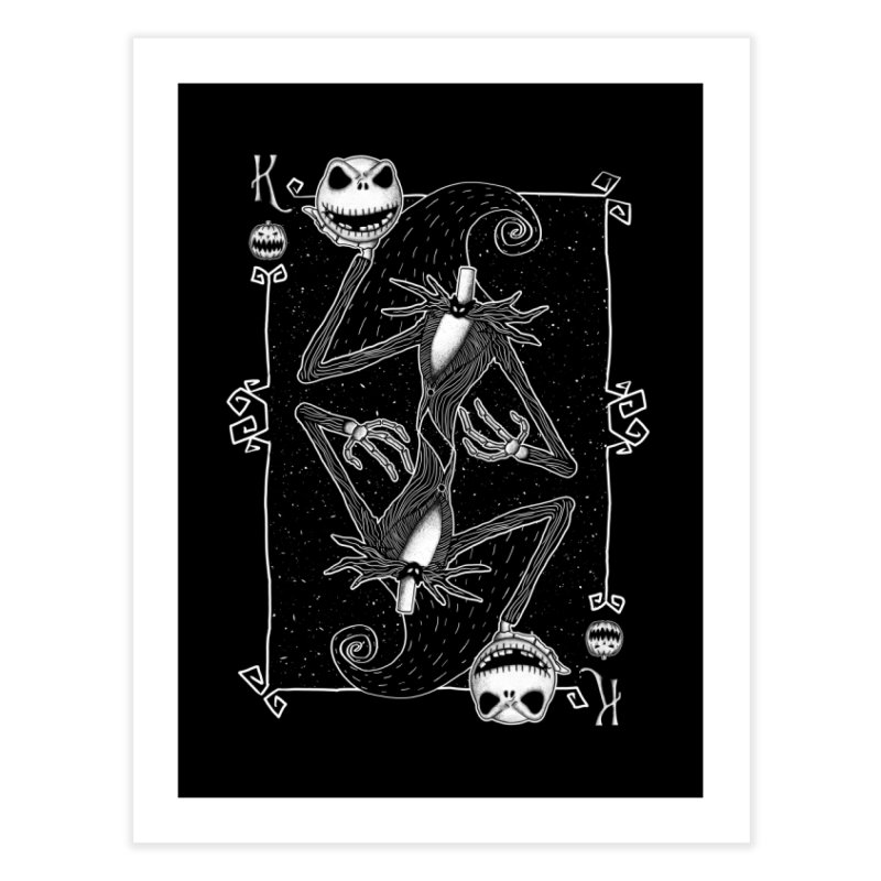 The Pumpkin King  Home Fine Art Print by lirovi's Artist Shop