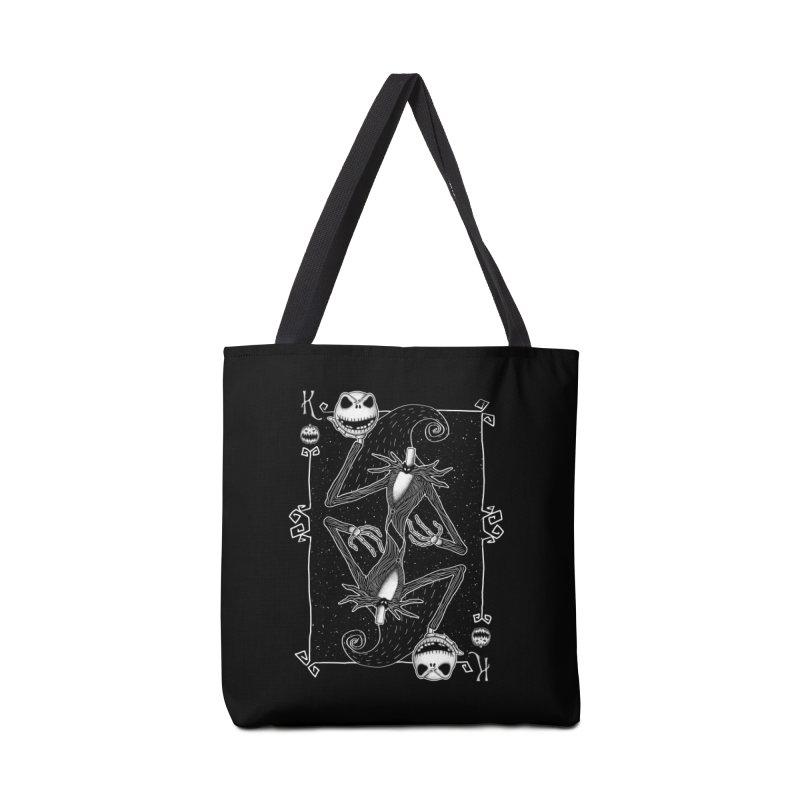 The Pumpkin King  Accessories Bag by lirovi's Artist Shop
