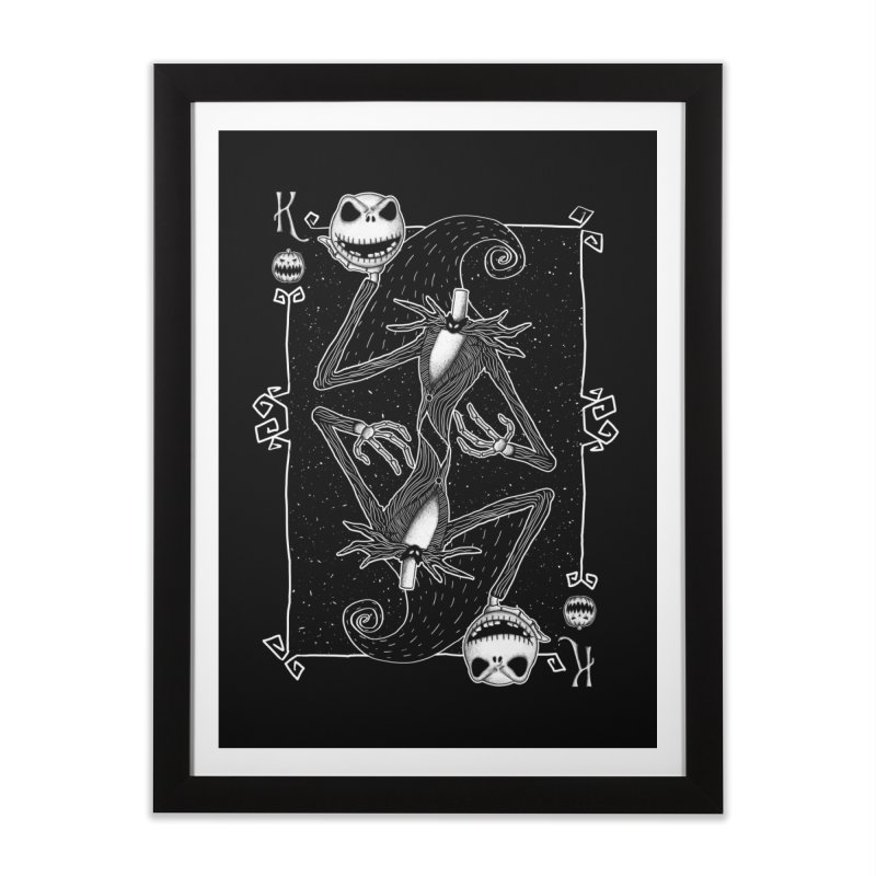 The Pumpkin King  Home Framed Fine Art Print by lirovi's Artist Shop