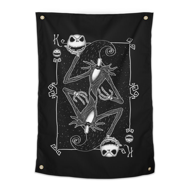 The Pumpkin King  Home Tapestry by lirovi's Artist Shop