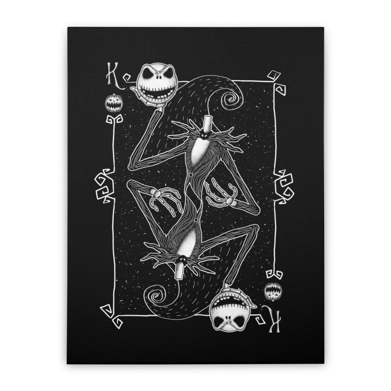 The Pumpkin King  Home Stretched Canvas by lirovi's Artist Shop