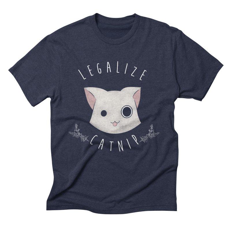 Legalize Catnip Men's Triblend T-Shirt by lirovi's Artist Shop