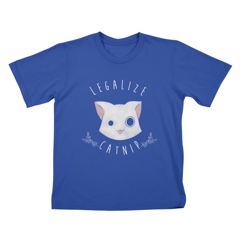 Legalize Catnip Kids T-shirt by lirovi's Artist Shop