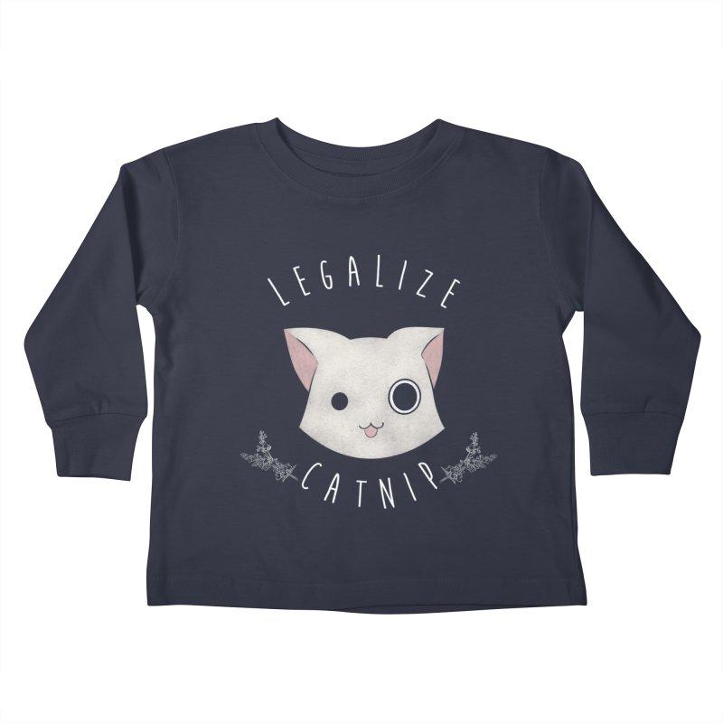 Legalize Catnip Kids Toddler Longsleeve T-Shirt by lirovi's Artist Shop