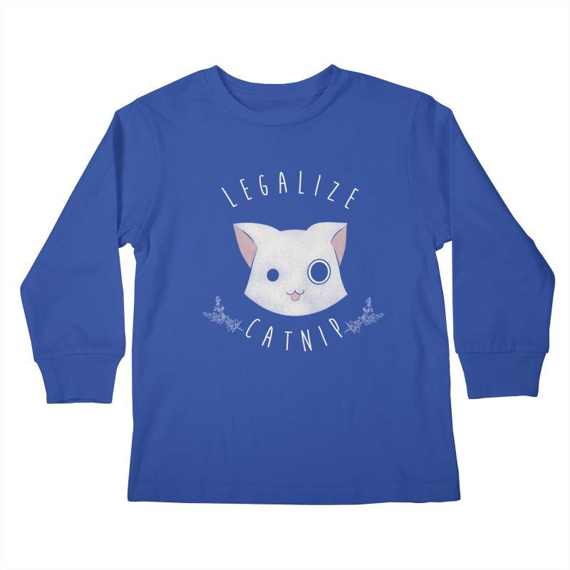 Legalize Catnip Kids Longsleeve T-Shirt by lirovi's Artist Shop