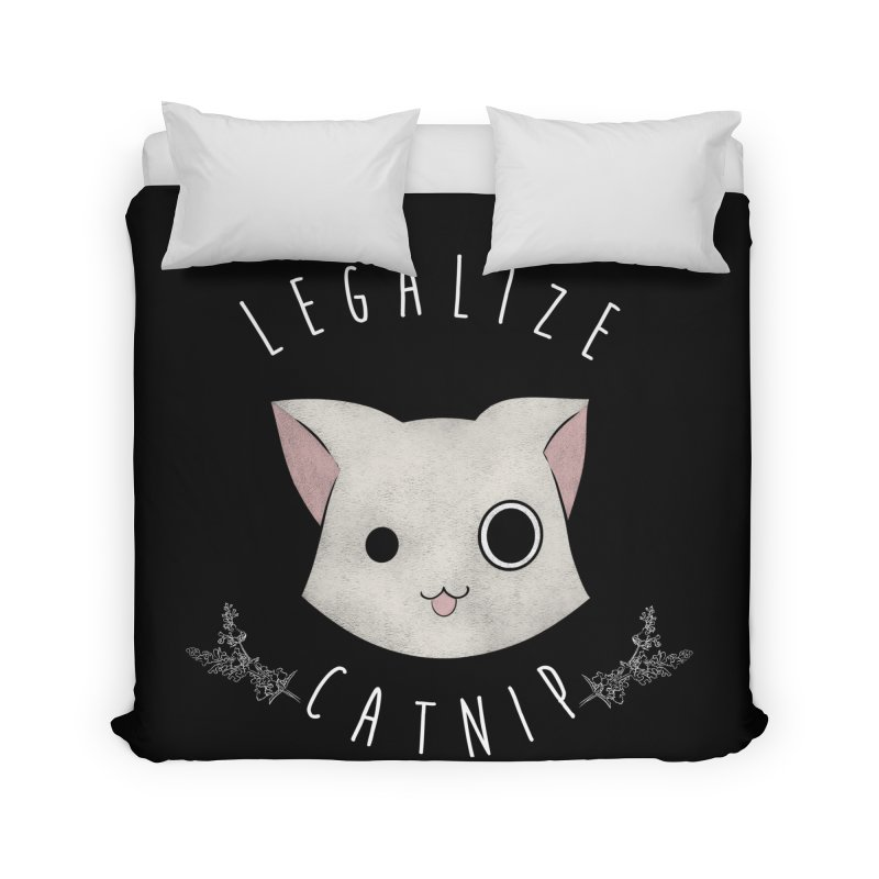 Legalize Catnip Home Duvet by lirovi's Artist Shop