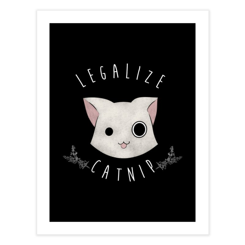 Legalize Catnip Home Fine Art Print by lirovi's Artist Shop