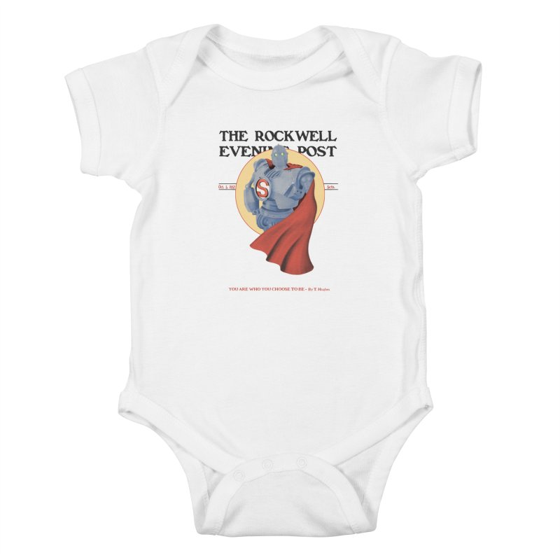 You are who you choose to be Kids Baby Bodysuit by lirovi's Artist Shop