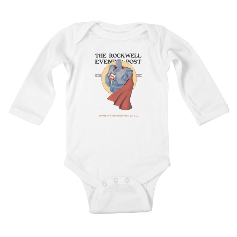 You are who you choose to be Kids Baby Longsleeve Bodysuit by lirovi's Artist Shop