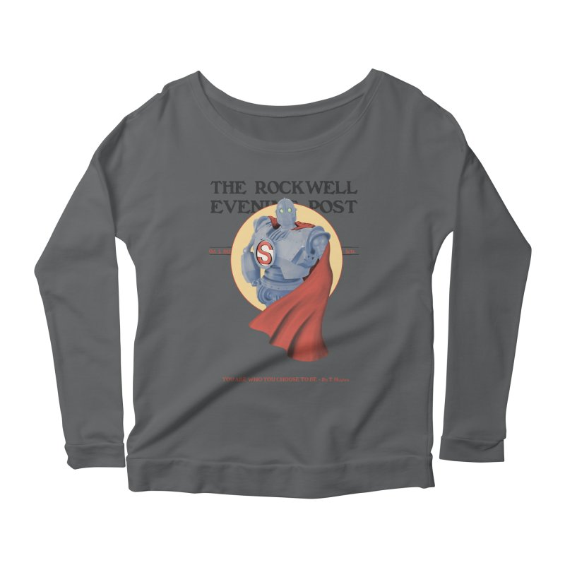 You are who you choose to be Women's Longsleeve Scoopneck  by lirovi's Artist Shop