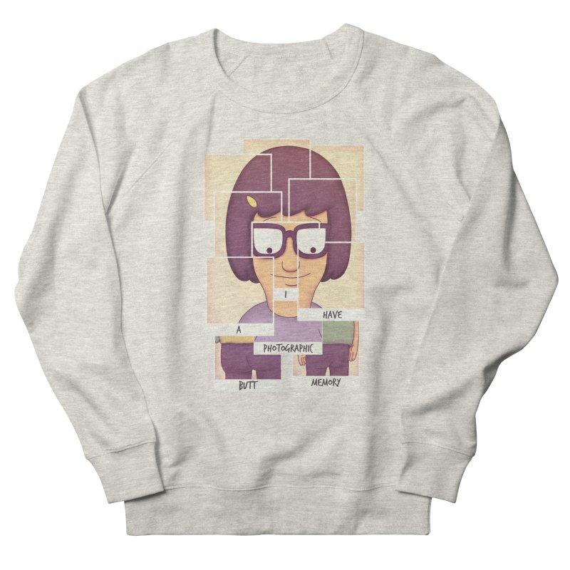 Photographic Butt Memory Women's Sweatshirt by lirovi's Artist Shop