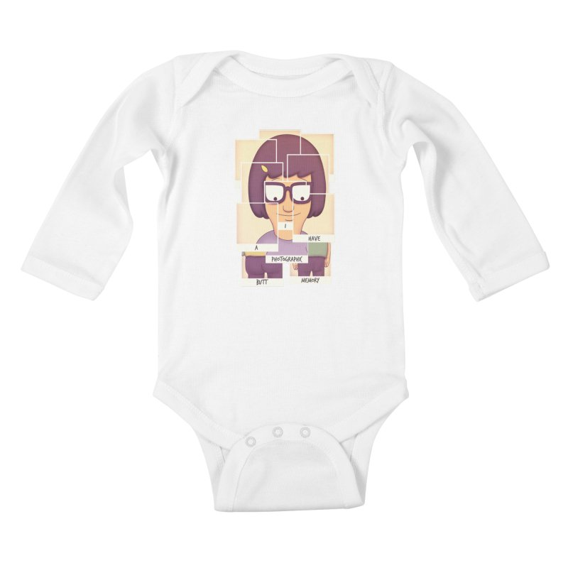 Photographic Butt Memory Kids Baby Longsleeve Bodysuit by lirovi's Artist Shop