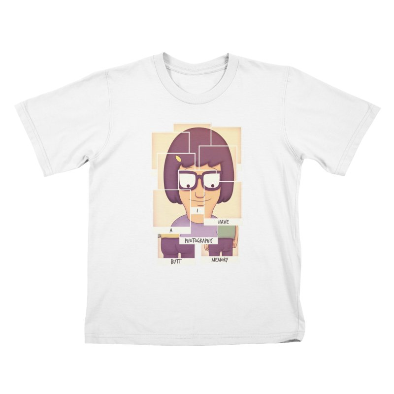 Photographic Butt Memory Kids T-shirt by lirovi's Artist Shop