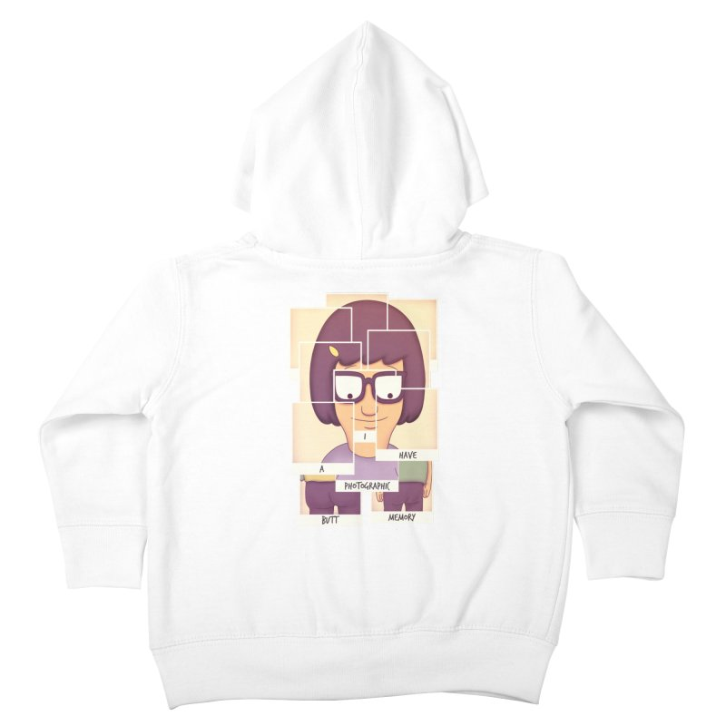 Photographic Butt Memory Kids Toddler Zip-Up Hoody by lirovi's Artist Shop