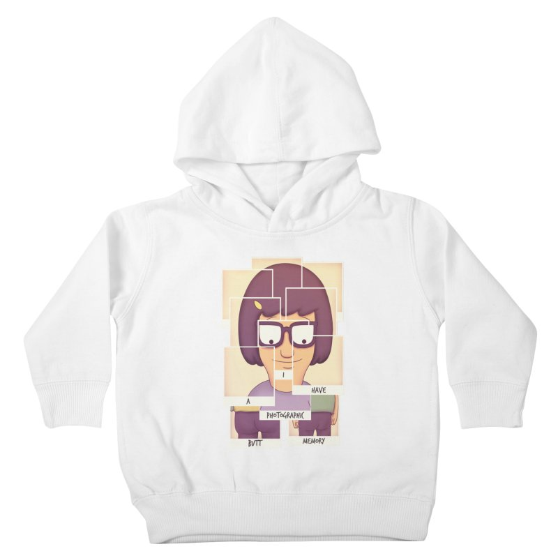 Photographic Butt Memory Kids Toddler Pullover Hoody by lirovi's Artist Shop