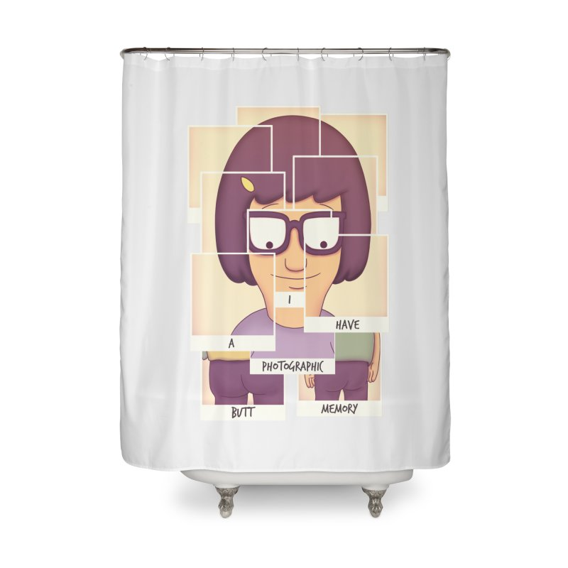 Photographic Butt Memory Home Shower Curtain by lirovi's Artist Shop