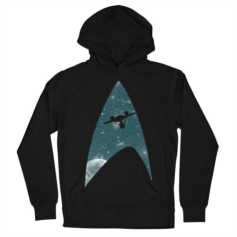 Space the final frontier Men's Pullover Hoody by lirovi's Artist Shop