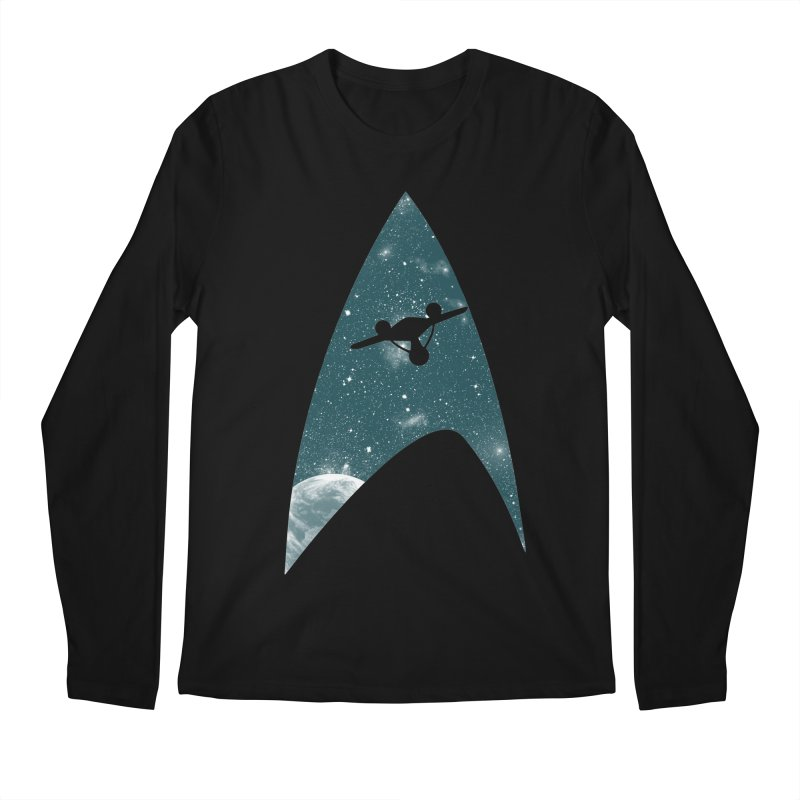 Space the final frontier Men's Longsleeve T-Shirt by lirovi's Artist Shop
