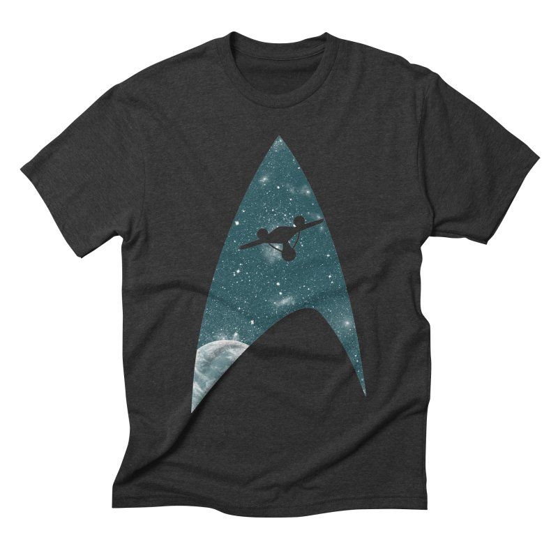 Space the final frontier Men's Triblend T-shirt by lirovi's Artist Shop