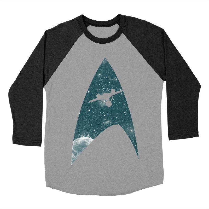 Space the final frontier Men's Baseball Triblend T-Shirt by lirovi's Artist Shop