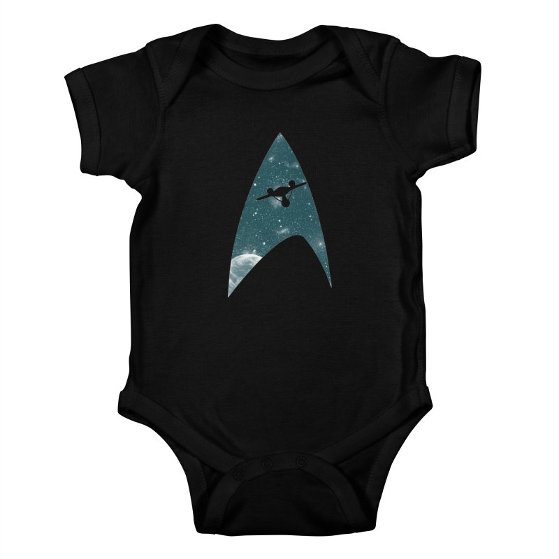 Space the final frontier Kids Baby Bodysuit by lirovi's Artist Shop
