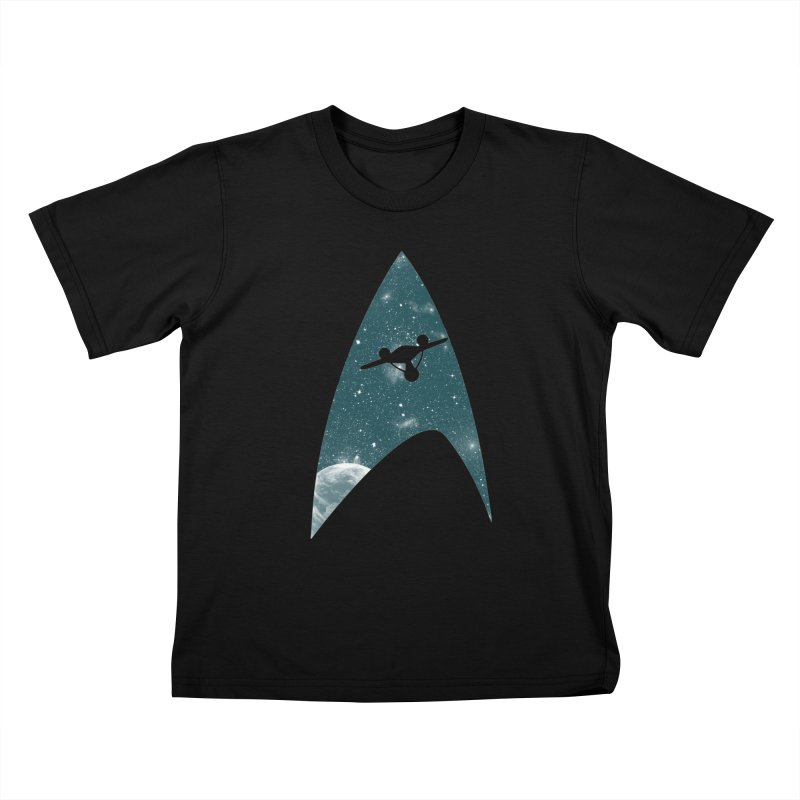 Space the final frontier Kids T-shirt by lirovi's Artist Shop