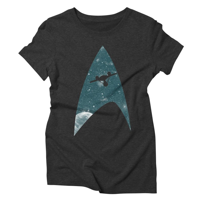 Space the final frontier Women's Triblend T-shirt by lirovi's Artist Shop