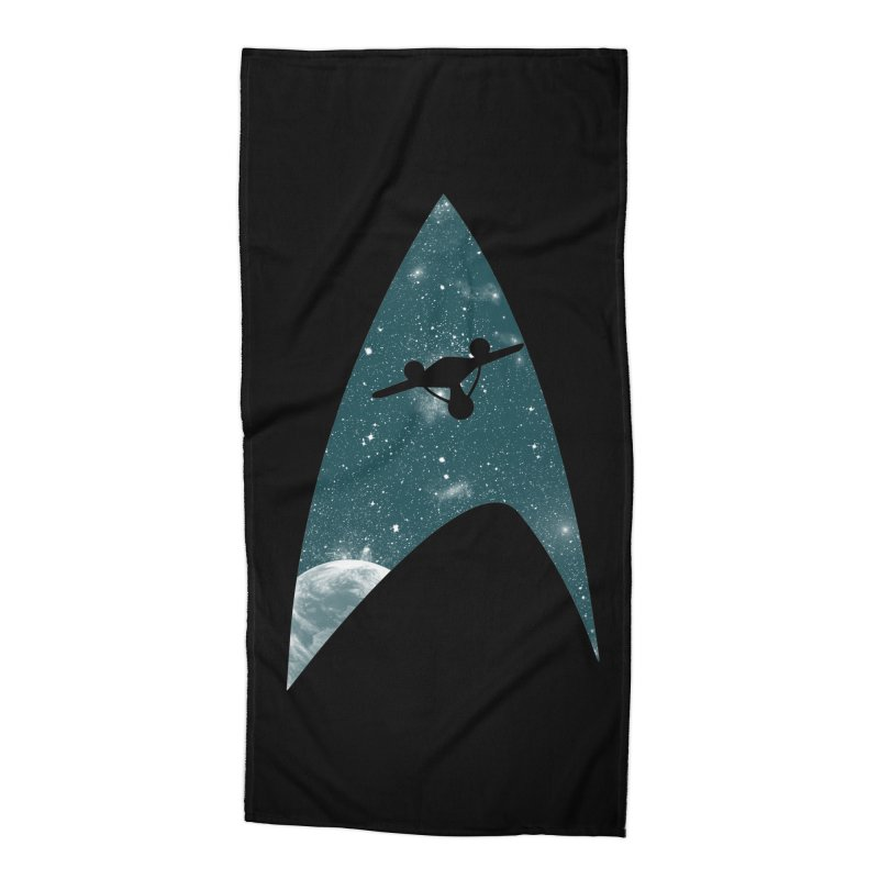 Space the final frontier Accessories Beach Towel by lirovi's Artist Shop