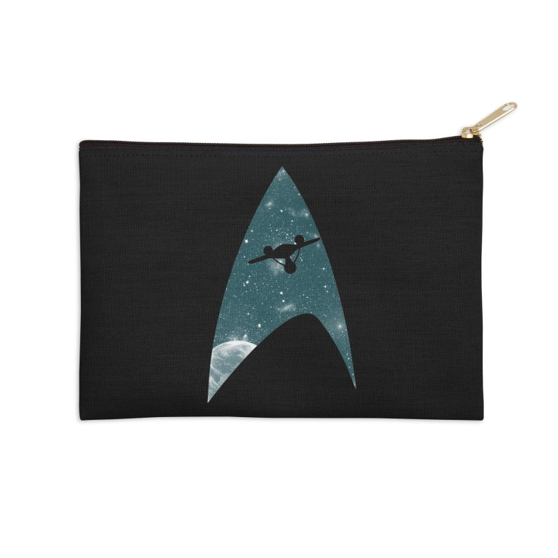 Space the final frontier Accessories Zip Pouch by lirovi's Artist Shop