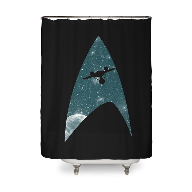 Space the final frontier Home Shower Curtain by lirovi's Artist Shop
