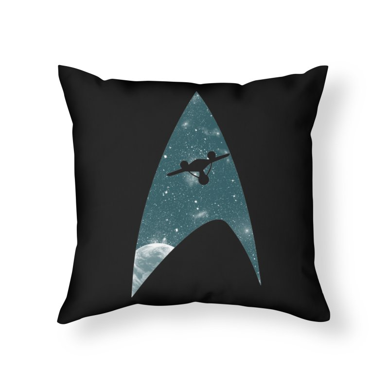 Space the final frontier Home Throw Pillow by lirovi's Artist Shop