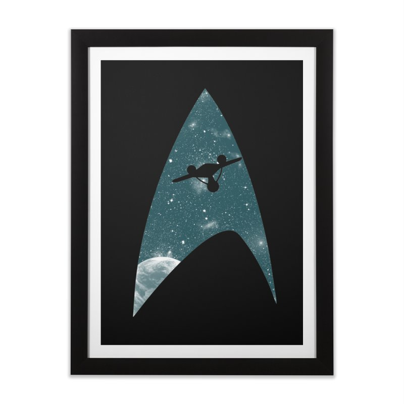 Space the final frontier Home Framed Fine Art Print by lirovi's Artist Shop