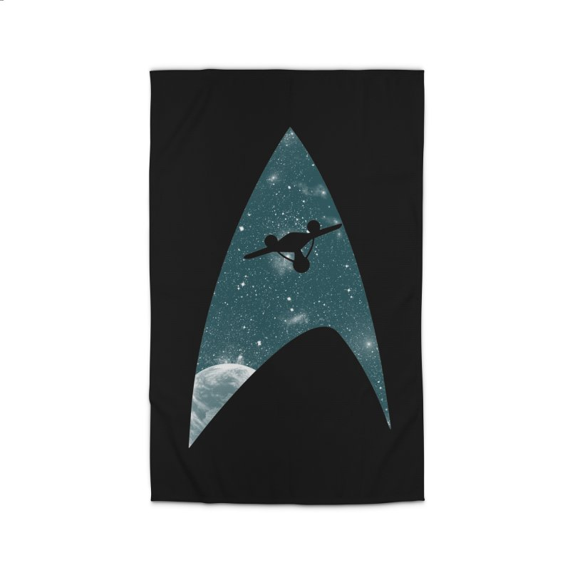 Space the final frontier Home Rug by lirovi's Artist Shop