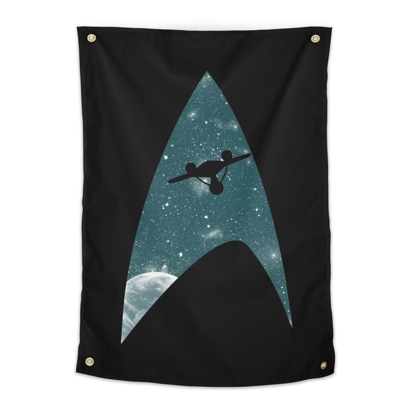 Space the final frontier Home Tapestry by lirovi's Artist Shop