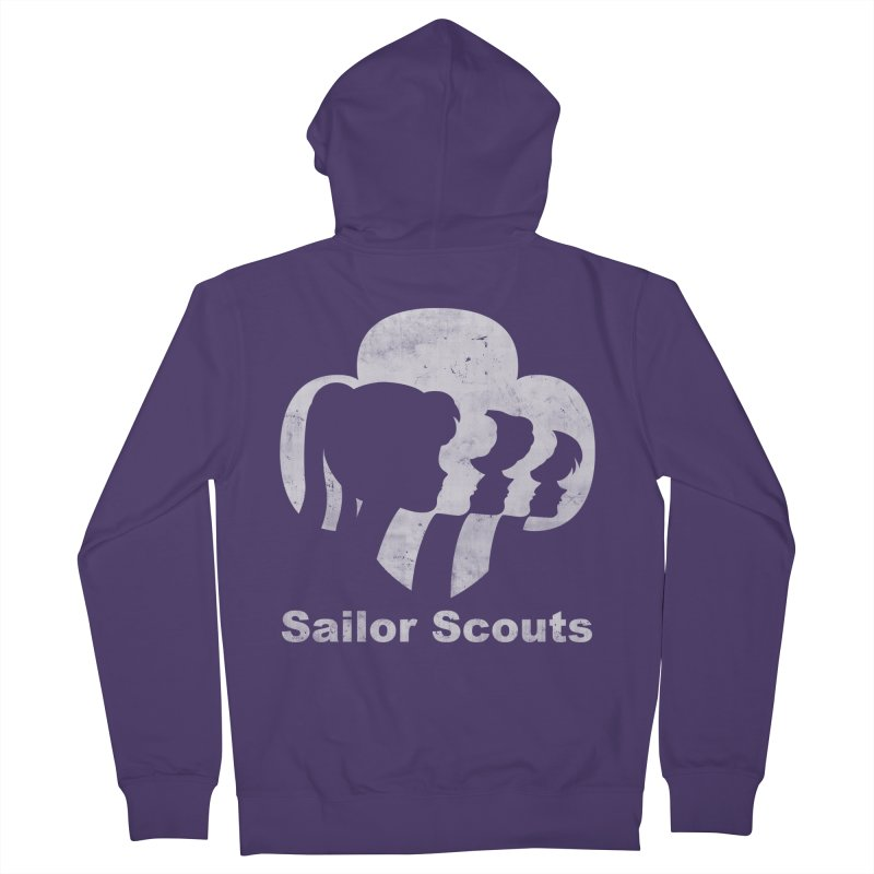 Sailor Scouts Women's Zip-Up Hoody by lirovi's Artist Shop