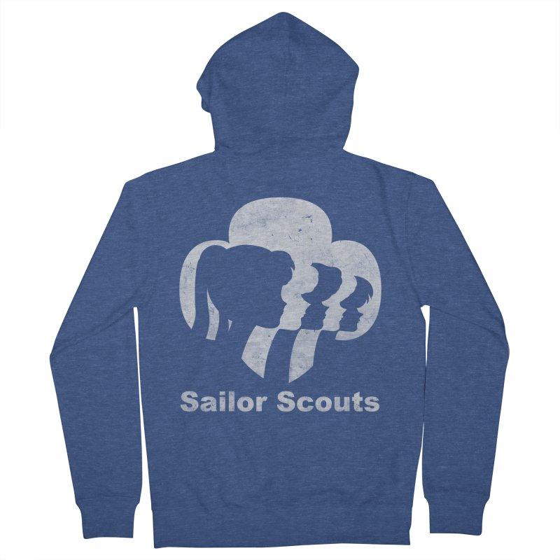 Sailor Scouts Men's Zip-Up Hoody by lirovi's Artist Shop