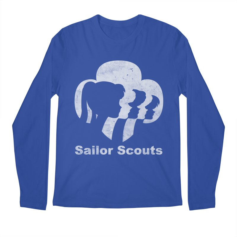 Sailor Scouts Men's Longsleeve T-Shirt by lirovi's Artist Shop