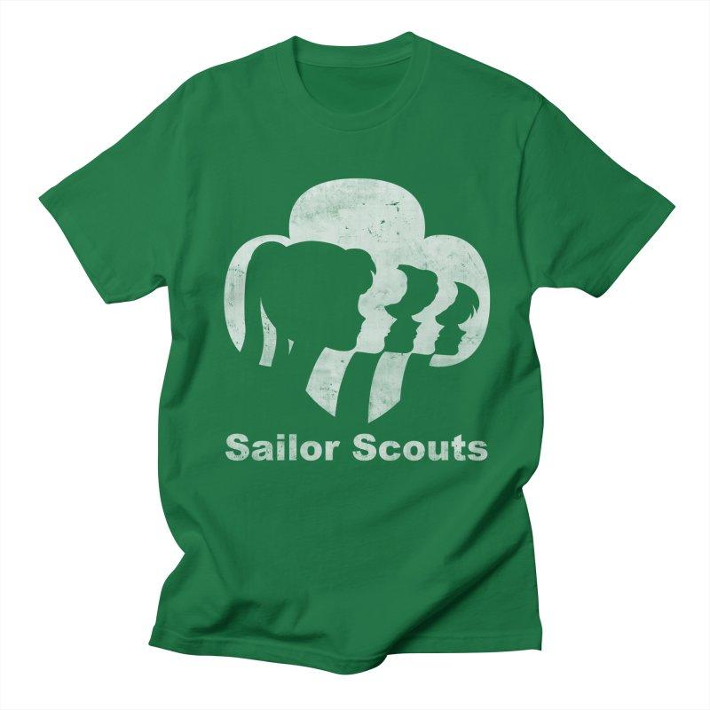 Sailor Scouts Women's Unisex T-Shirt by lirovi's Artist Shop