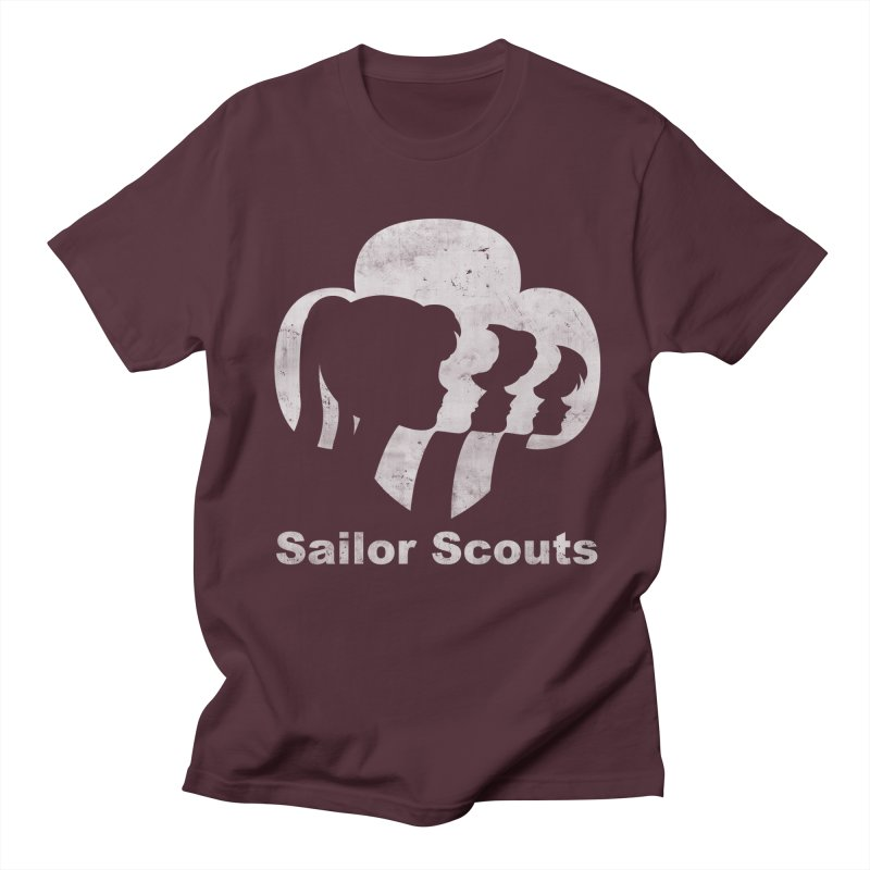 Sailor Scouts Women's Unisex T-Shirt by lirovi's Artist Shop