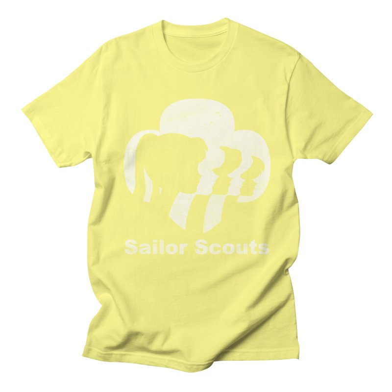Sailor Scouts Men's T-shirt by lirovi's Artist Shop