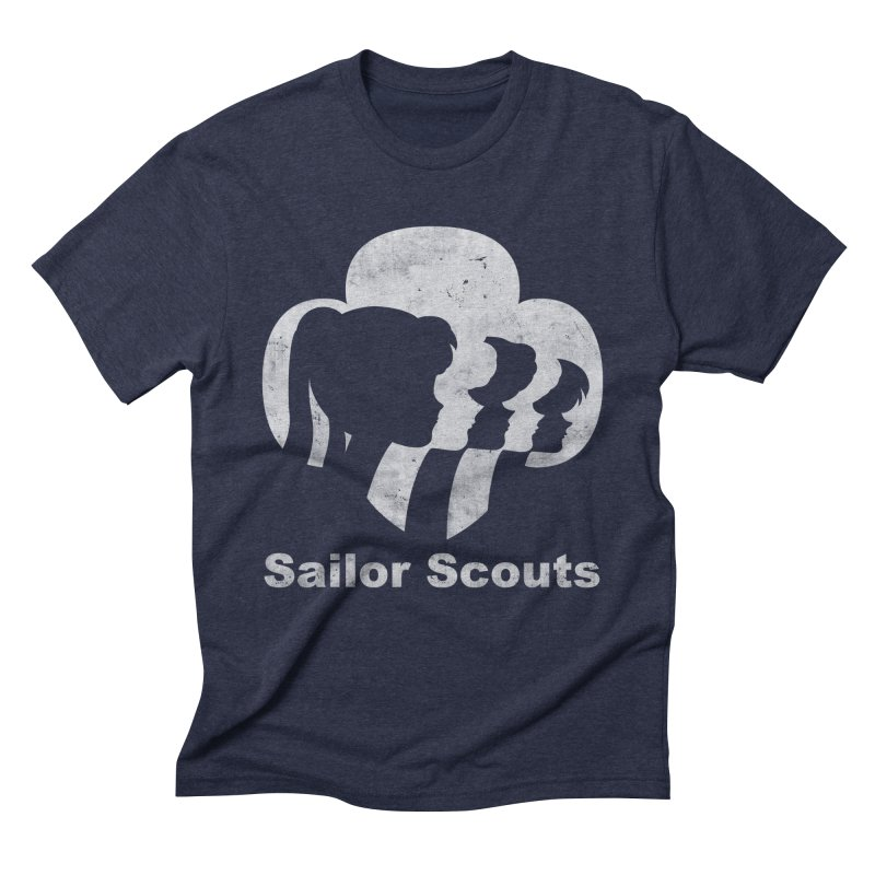 Sailor Scouts Men's Triblend T-shirt by lirovi's Artist Shop