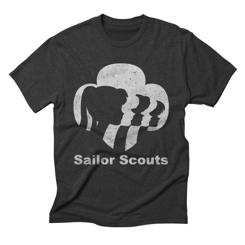 Sailor Scouts Men's Triblend T-Shirt by lirovi's Artist Shop